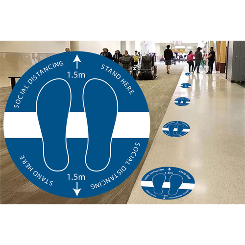 Anti-Slip Floor Decal (10 Pack) Design 3